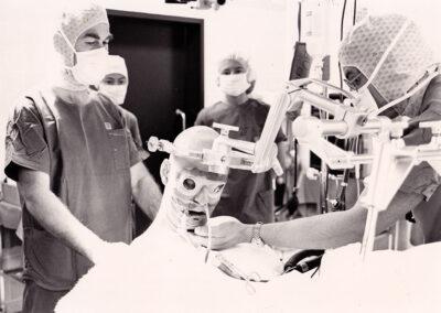 Microchirurgischen Dekompression wegen Trigeminus Neuralgie