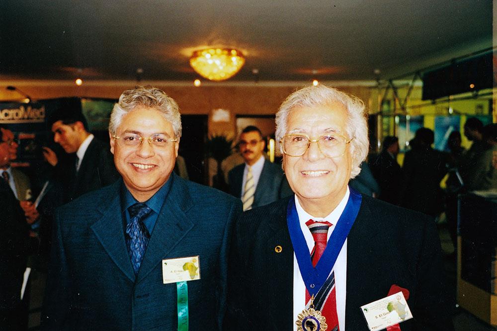 Sayed El Gindi 2000 PanArab Congress